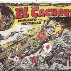 Tebeos: EL CACHORRO Nº 41, IRANZO. EDITORIAL BRUGUERA, ORIGINAL 1952. EL CACHORRO ENVUELTO EN METRALLA. Lote 95213171