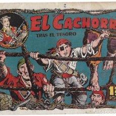 Tebeos: EL CACHORRO Nº 62, IRANZO. EDITORIAL BRUGUERA, ORIGINAL 1953. EL CACHORRO ENVUELTO EN METRALLA. Lote 95213871