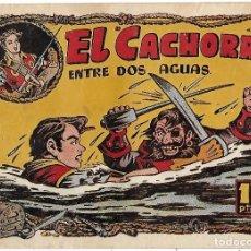 Tebeos: EL CACHORRO Nº 83, IRANZO. EDITORIAL BRUGUERA, ORIGINAL 1954. EL CACHORRO ENTRE DOS AGUAS. Lote 245426275