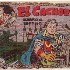 Tebeos: EL CACHORRO Nº 91, IRANZO. EDITORIAL BRUGUERA, ORIGINAL 1954. EL CACHORRO RUMBO A ESPAÑA. Lote 95215335