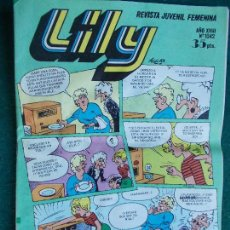 Tebeos: LILY Nº 1042. Lote 95338003