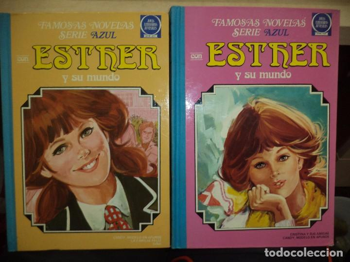 ESTHER Y SU MUNDO.TOMO Nº3 1981 Y TOMO Nº6 1983.BRUGUERA .FAMOSAS NOVELAS SERIE AZUL,LOTE. (Tebeos y Comics - Bruguera - Joyas Literarias)