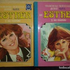 Tebeos: ESTHER Y SU MUNDO.TOMO Nº3 1981 Y TOMO Nº6 1983.BRUGUERA .FAMOSAS NOVELAS SERIE AZUL,LOTE.. Lote 95373075