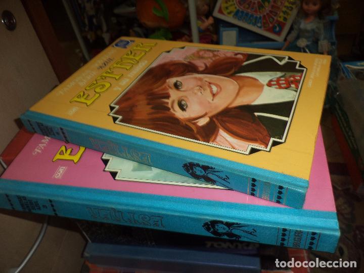 Tebeos: Esther y su Mundo.Tomo nº3 1981 y tomo nº6 1983.Bruguera .Famosas novelas Serie Azul,Lote. - Foto 2 - 95373075