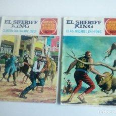 Tebeos: LOTE 2 COMICS SHERIFF KING - LEER DESCRIPCIÓN. Lote 95489035