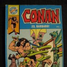 Tebeos: CONAN ¡ EL BARBARO ! - POCKET DE ASES - Nº 19 - EDITORIAL BRUGUERA.. Lote 95545543