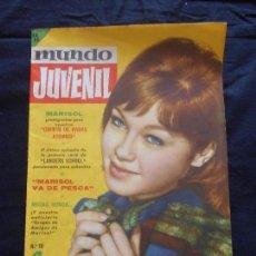 Tebeos: REVISTA MUNDO JUVENIL LOS AMIGOS DE MARISOL NUM. 10. Lote 95556431