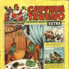 Tebeos: EL CAPITAN TRUENO EXTRA EL DIQUE DEL EXTERMINIO Nº 33 AÑO X. Lote 95559419