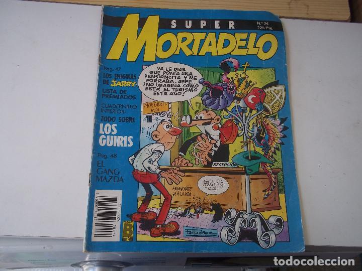 COMIC SUPER MORTADELO Nº74 AÑO 1987 POSIBLE RECOGIDA EN MALLORCA (Tebeos y Comics - Bruguera - Mortadelo)