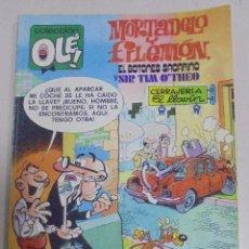 Tebeos: TEBEO. COLECCION OLE!. MORTADELO Y FILEMON. EL BOTONES SACARINO Y SIR TLM O'THEO Nº 182. Lote 106052439
