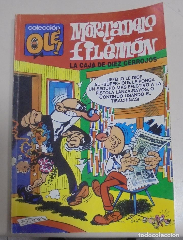 TEBEO. COLECCION OLE!. MORTADELO Y FILEMON. LA CAJA DE DIEZ CERROJOS. 88-M. 16 (Tebeos y Comics - Bruguera - Ole)