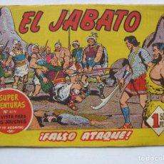 Tebeos: EL JABATO Nº129 - BRUGUERA -. Lote 95694299
