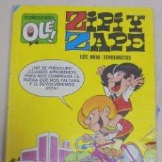 Tebeos: TEBEO. ZIPI Y ZAPE. COLECCION OLE!. Nº 10. LOS MINI-TERREMOTOS. Lote 106052244