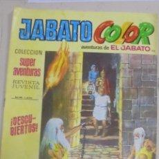 Tebeos: TEBEO. JABATO COLOR. 110. EL BALLET DE LOS DELFINES. SUPER AVENTURAS Nº 1400. Lote 95722355