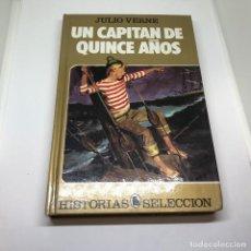 Tebeos: UN CAPITAN DE QUINCE AÑOS. HISTORIAS SELECCION. EDITORIAL BRUGERA . Lote 95734455