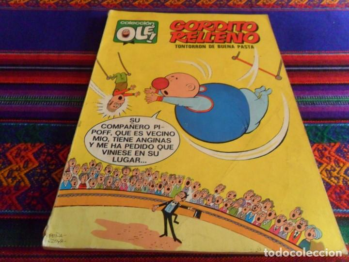 OLÉ Nº 24 GORDITO RELLENO. BRUGUERA 1971 Nº LOMO 1ª PRIMERA EDICIÓN 1971 40 PTS. RARO. (Tebeos y Comics - Bruguera - Ole)