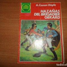Tebeos: JOYAS LITERARIAS JUVENILES Nº 267 HAZAÑAS DEL BRIGADIER GERARD EDITORIAL BRUGUERA . Lote 95752243