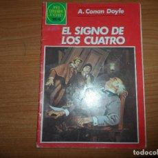 Tebeos: JOYAS LITERARIAS JUVENILES Nº 258 EL SIGNO DE LOS CUATRO EDITORIAL BRUGUERA . Lote 95753435