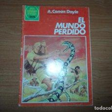 Tebeos: JOYAS LITERARIAS JUVENILES Nº 257 EL MUNDO PERDIDO EDITORIAL BRUGUERA . Lote 95753551