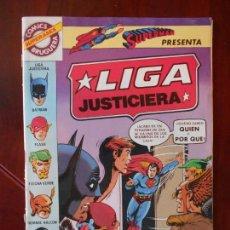 Tebeos: LIGA JUSTICIERA - Nº 2 - SUPERMAN - BRUGUERA - SUPER ASES (A1). Lote 95761639