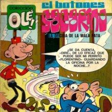 Tebeos: OLE Nº 62 EL BOTONES SACARINO - LA OFICINA DE LA MALA PATA - BRGUERA 1972 1ª EDICION - VER DESCRIP.. Lote 95767231