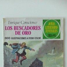 Tebeos: JOYAS LITERARIAS JUVENILES LOS BUSCADORES DE ORO NÚMERO 99 AÑO 1977 BRUGUERA. Lote 95769179
