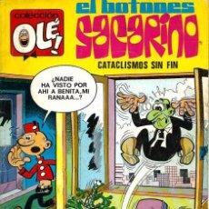 Tebeos: OLE Nº 84 EL BOTONES SACARINO - CATACLISMOS SIN FIN - BRUGUERA 1973 1ª EDICION - 80 PAG Y Nº EN LOMO. Lote 95770971