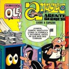 Tebeos: OLE Nº 74 ANACLETO - CASOS A CAPAZOS - BRUGUERA 1973 1ª EDICION - 80 PAG Y Nº EN LOMO - VER DESCRIP.. Lote 95771563