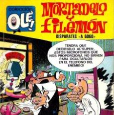 Tebeos: OLE Nº 90 MORTADELO- DISPARATES A GOGO - BRUGUERA 1973 1ª EDICION - 80 PAG Y Nº EN LOMO - MUY BIEN.. Lote 95771739