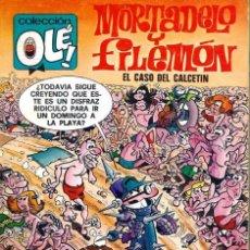 Tebeos: OLE Nº 128 MORTADELO- EL CASO DEL CALCETIN - BRUGUERA 1977 1ª EDICION - MUY BIEN CONSERVADO. Lote 95771923