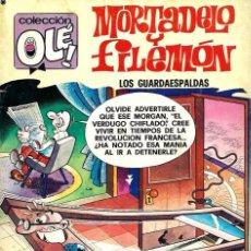 Tebeos: OLE Nº 145 MORTADELO- LOS GUARDAESPALDAS - BRUGUERA 1978 1ª EDICION - BIEN CONSERVADO. Lote 95772043