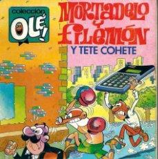Tebeos: OLE Nº 306 MORTADELO- QUE VIENE EL FISCO - BRUGUERA 1985 1ª EDICION - DIFICIL - ULTIMOS NUMEROS. Lote 95772155
