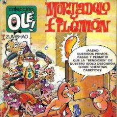 Tebeos: OLE Nº 315 MORTADELO- LA SECTA DEL ZUM-BHAO - BRUGUERA 1986 1ª EDICION - DIFICIL - ULTIMOS NUMEROS. Lote 95772223