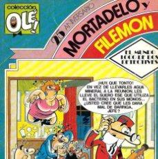 Tebeos: OLE Nº 273 25 ANIVERSARIO MORTADELO - EL MUNDO LOCO DE DOS DETECTIVES - BRUGUERA 1983, 1ª EDICION. Lote 95772295