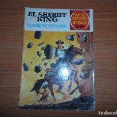 Tebeos: GRANDES AVENTURAS JUVENILES Nº 71 EL SHERIFF KING EDITORIAL BRUGUERA 1972 1ª EDICION ULTIMO NUMERO. Lote 95817831