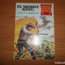Tebeos: GRANDES AVENTURAS JUVENILES Nº 30 EL SHERIFF KING EDITORIAL BRUGUERA 20 PESETAS . Lote 95817927