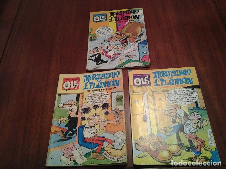 MORTADELO Y FILEMON - COLECCION OLE - EDITORIAL BRUGUERA - Nº 18, 57, 145, 154 - VER FOTOS (Tebeos y Comics - Bruguera - Ole)