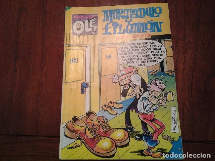 Tebeos: MORTADELO Y FILEMON - COLECCION OLE - EDITORIAL BRUGUERA - Nº 18, 57, 145, 154 - VER FOTOS - Foto 5 - 95826999