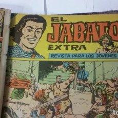 Tebeos: COLECCION ENCUADERNADA EL JABATO EXTRA DE 1962 COMPLETA. Lote 95834071