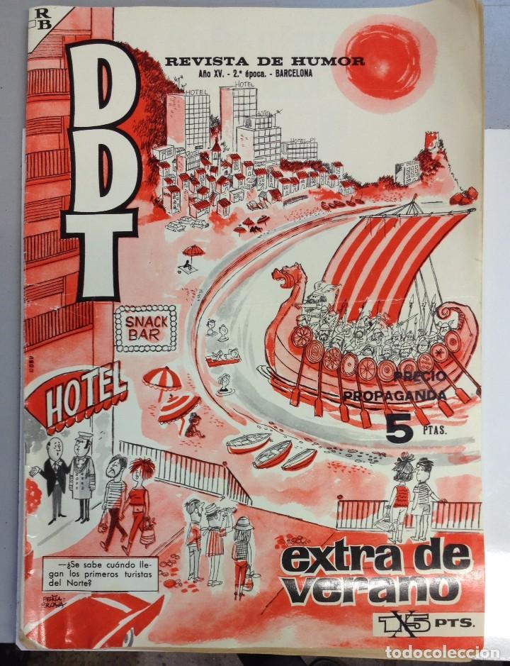 DDT AÑO XV.-2ºEPOCA (Tebeos y Comics - Bruguera - DDT)