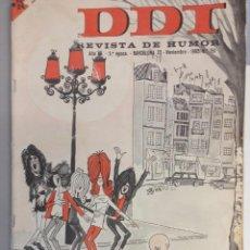 Tebeos: DDT AÑO XV.2 ªEPOCA BARCELONA NOVIEMBRE 1965 BRUGUERA Nº 751. Lote 95838315