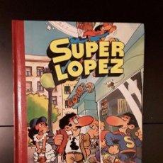 Tebeos: TOMO 1 SUPER LÓPEZ,JAN,EDICIONES B ,1 EDICION 1988,PERFECTO ESTADO. Lote 95868267