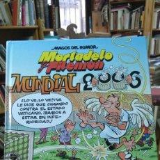 Tebeos: MORTADELO Y FILEMON. MUNDIAL 2006. MAGOS DEL HUMOR. 110. Lote 96013784
