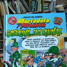 Tebeos: MORTADELO Y FILEMON. GASOLINA...LA RUINA. MAGOS DEL HUMOR. 124. Lote 96014427