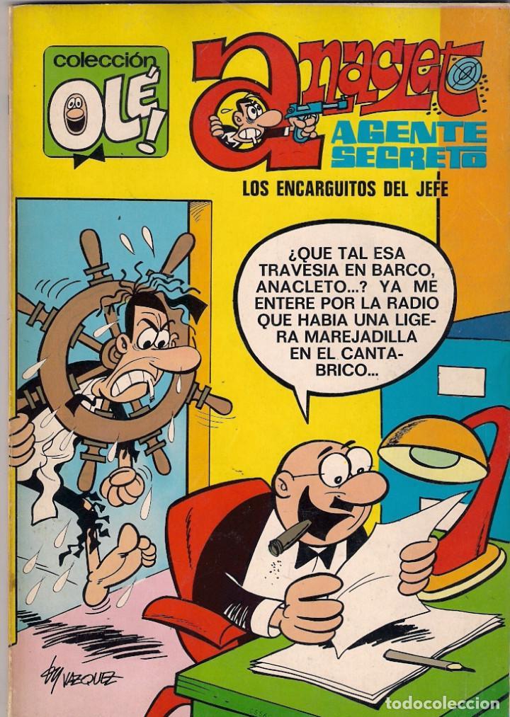 COLECCIÓN OLÉ. 1º EDICIÓN. Nº 41. ANACLETO AGENTE SECRETO. VÁZQUEZ. (Tebeos y Comics - Bruguera - Ole)