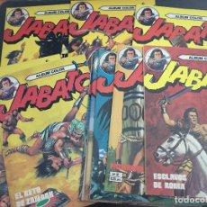 Tebeos: EL JABATO ALBUM COLOR. LOTE COLECCION COMPLETA 1 AL 12 (BRUGUERA) (COIB47). Lote 96102751