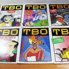 Tebeos: LOTE 6 COMICS TBO CUARTA EPOCA NUMEROS 1 AL 6, COMIC. Lote 96106263