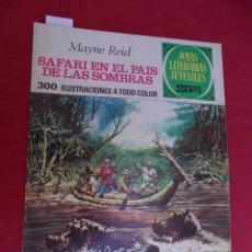 Tebeos: JOYAS LITERARIAS JUVENILES. Nº 145. SAFARI EN EL PAIS DE LAS SOMBRAS. BRUGUERA. 1975. 1ª EDICIÓN.. Lote 96114375