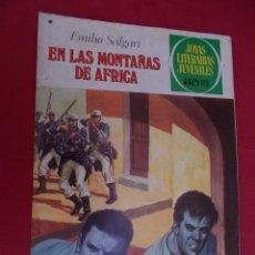 Tebeos: JOYAS LITERARIAS JUVENILES. Nº 181. EN LAS MONTAÑAS DE AFRICA. BRUGUERA. 1977. 1ª EDICIÓN.. Lote 96115495