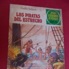 Tebeos: JOYAS LITERARIAS JUVENILES. Nº 220. LOS PIRATAS DEL ESTRECHO. BRUGUERA. 1979. 1ª EDICIÓN.. Lote 96115735